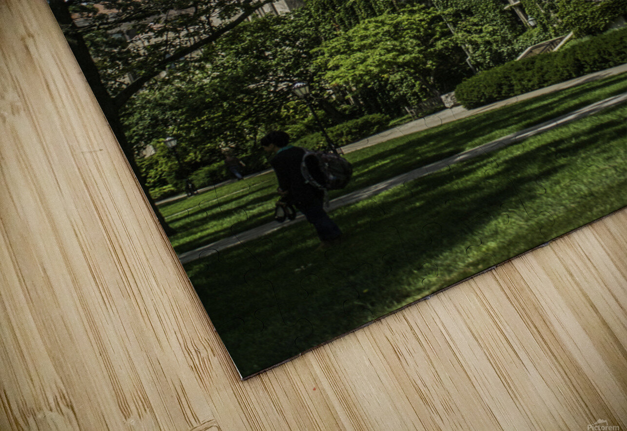 College Green HD Sublimation Metal print