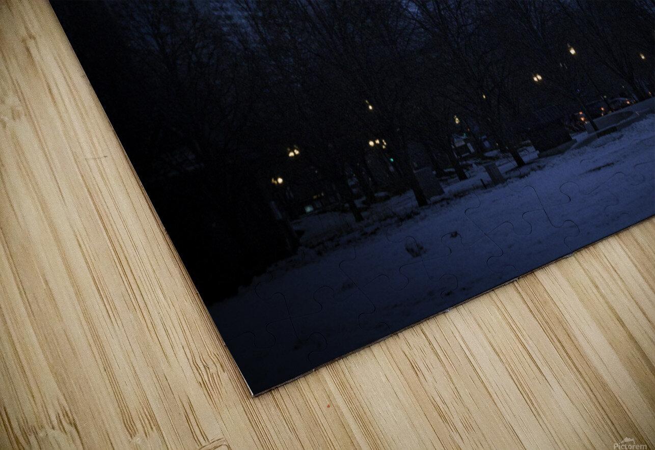 Chicago Christmas HD Sublimation Metal print