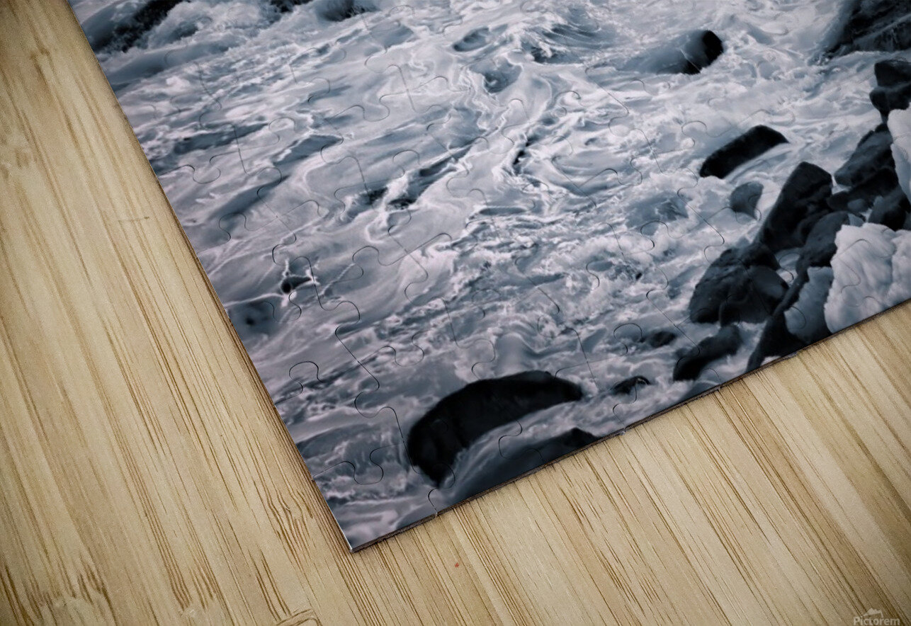 Ice Blue HD Sublimation Metal print