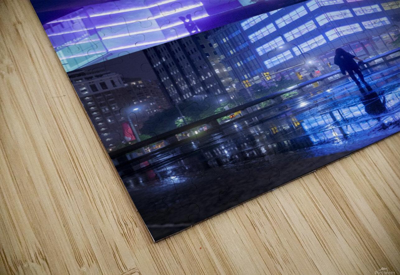 Nocturne City HD Sublimation Metal print