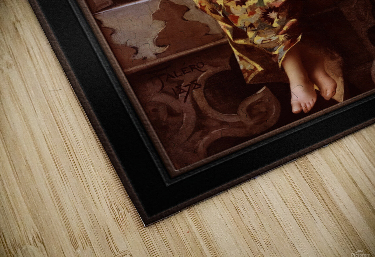 Enchantress by Luis Ricardo Falero Classical Art Xzendor7 Old Masters Reproductions HD Sublimation Metal print
