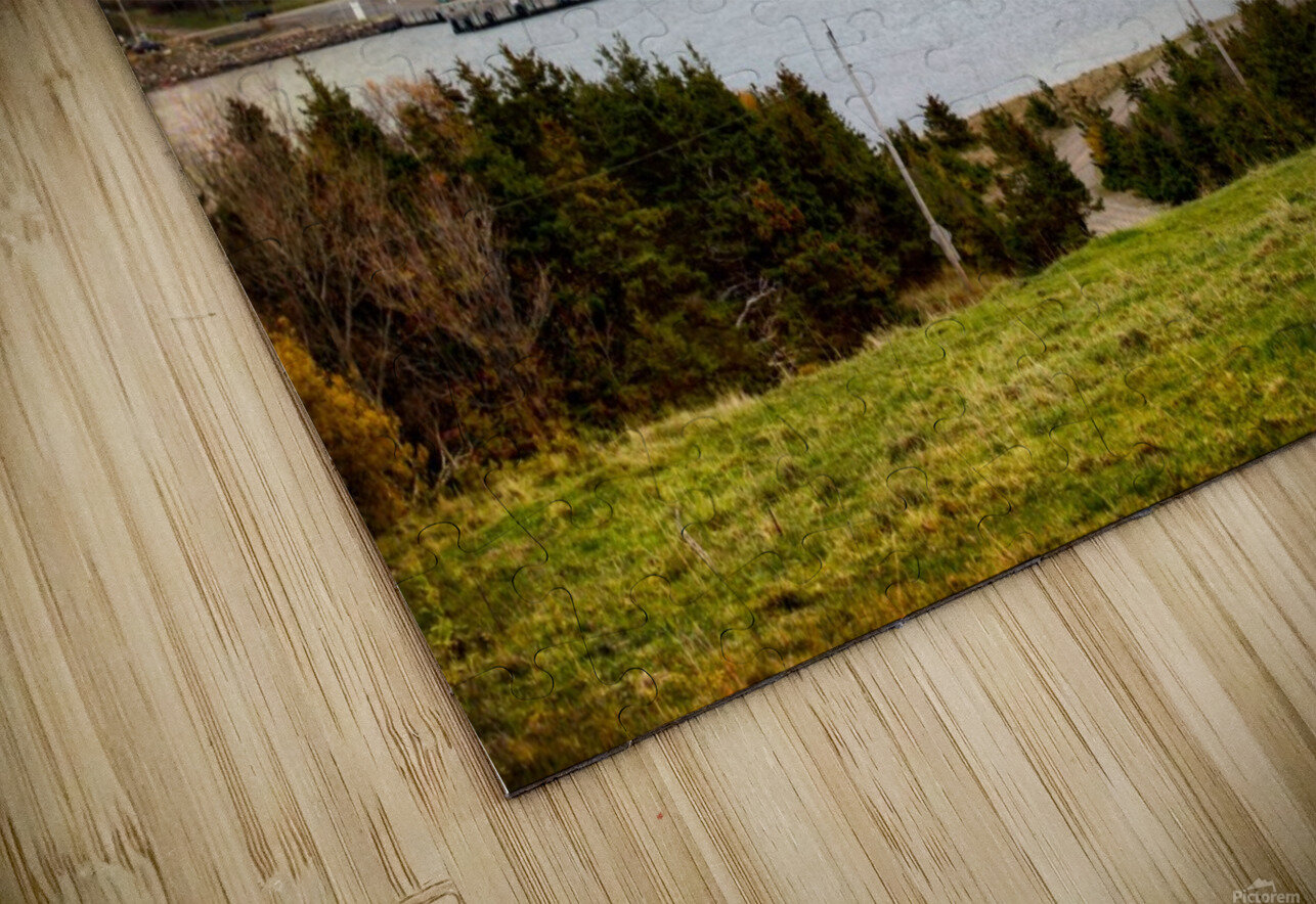 Cheticamp with textures HD Sublimation Metal print