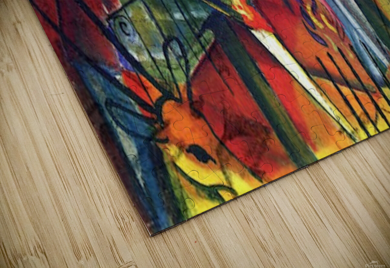 zoological gardens by Macke HD Sublimation Metal print