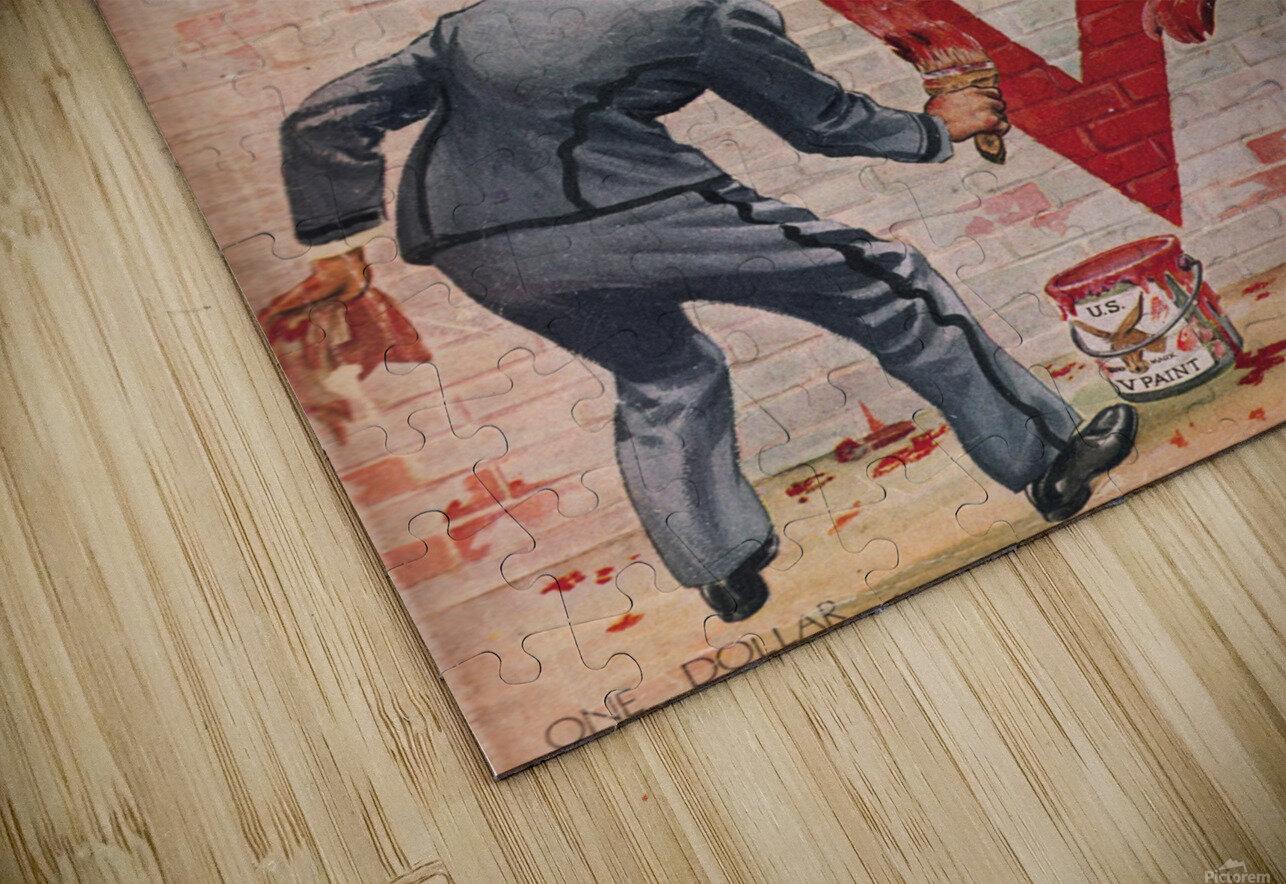 1945 Army Navy Football Program Canvas Art HD Sublimation Metal print
