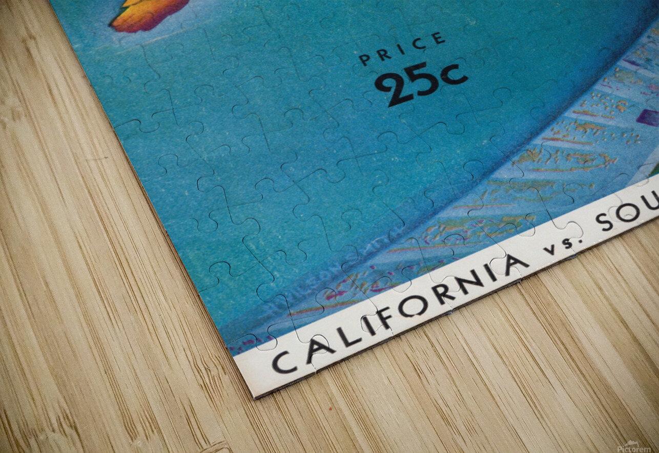 1932 California vs. Southern California HD Sublimation Metal print