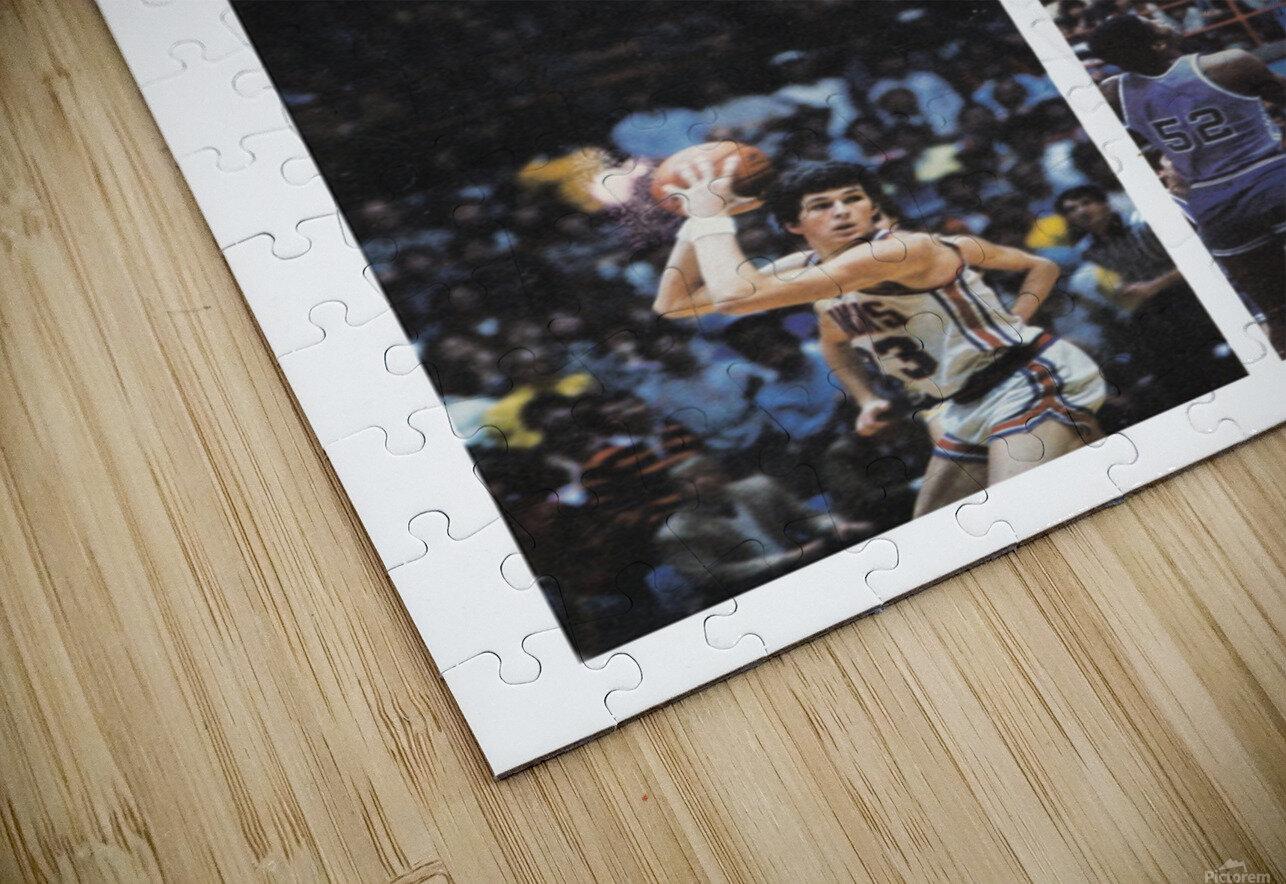 1982 Kansas Jayhawks Basketball Art HD Sublimation Metal print