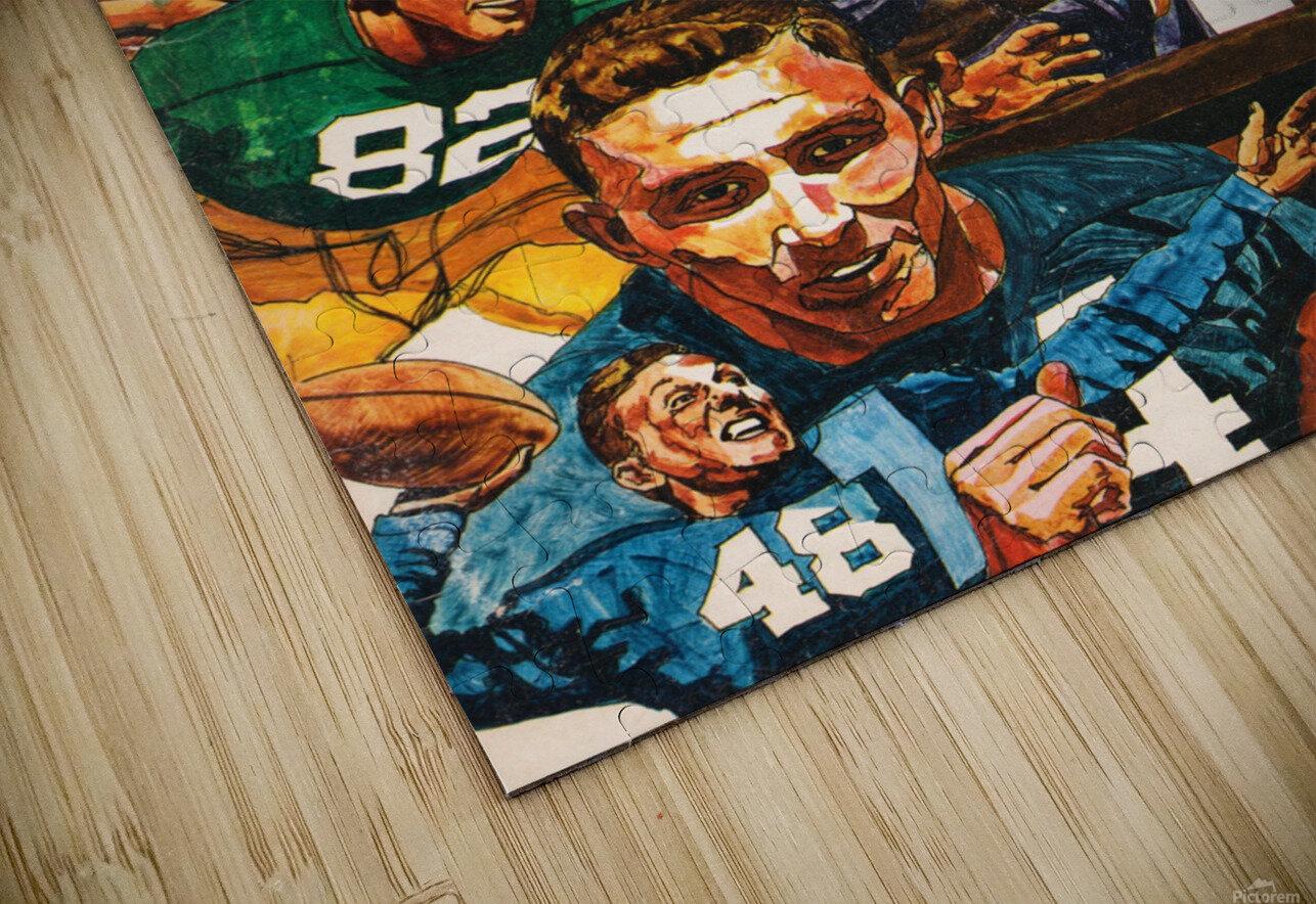 1968 Notre Dame Football Heisman Winner Art HD Sublimation Metal print