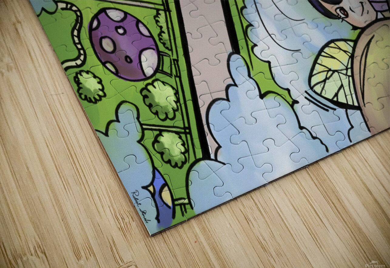 Let Your Dreams Take Flight - A Dream of Tomorrow  - Bugville Critters HD Sublimation Metal print