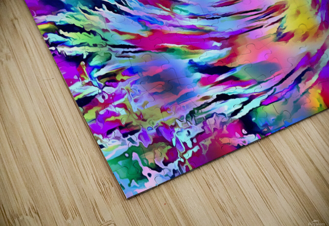 Love Comes Around HD Sublimation Metal print