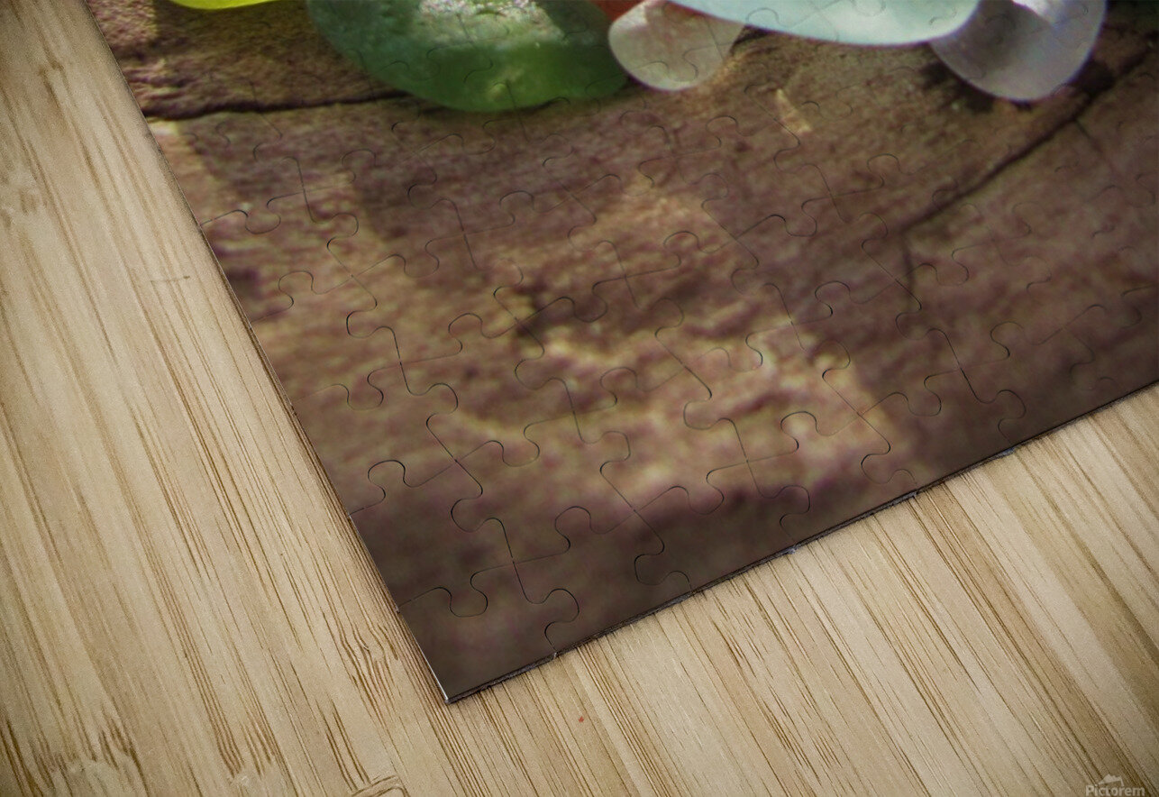 Sea Glass Colors HD Sublimation Metal print