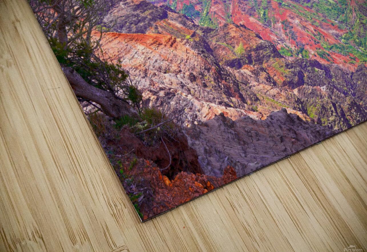 Waimea Canyon on the Island of Kauai HD Sublimation Metal print