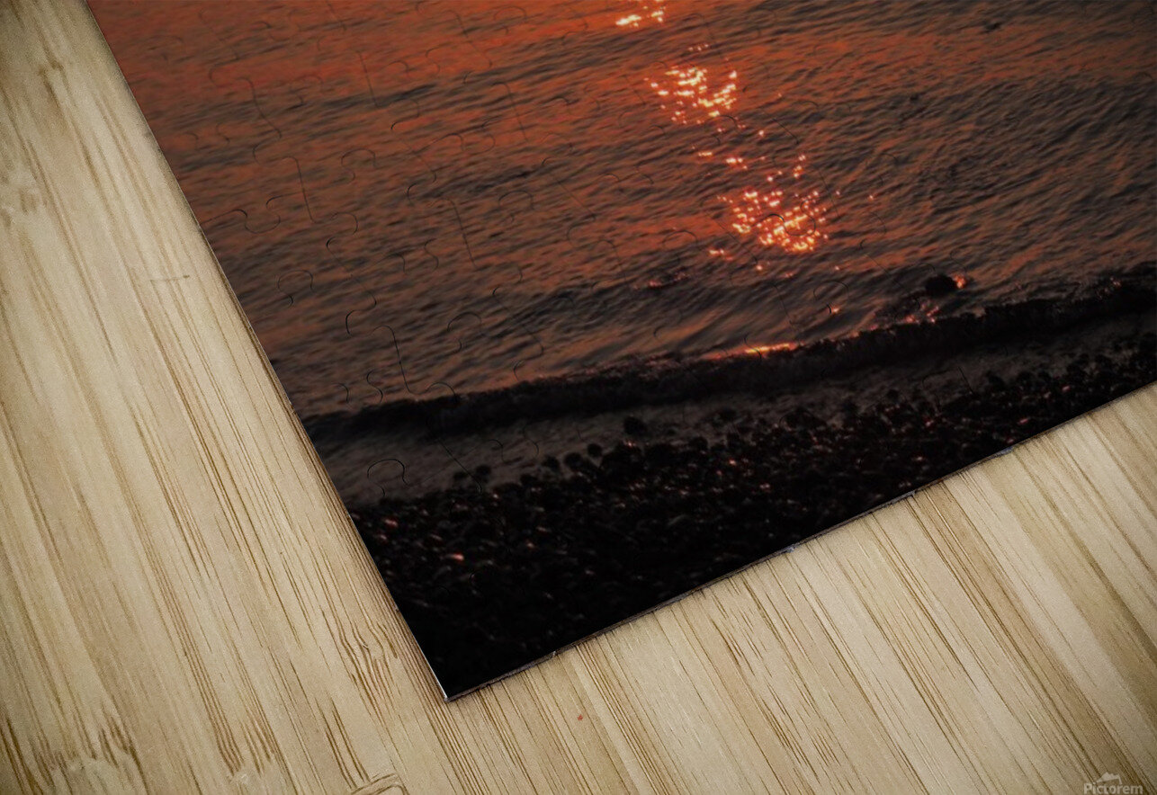 Qualicum Beach Sunset HD Sublimation Metal print