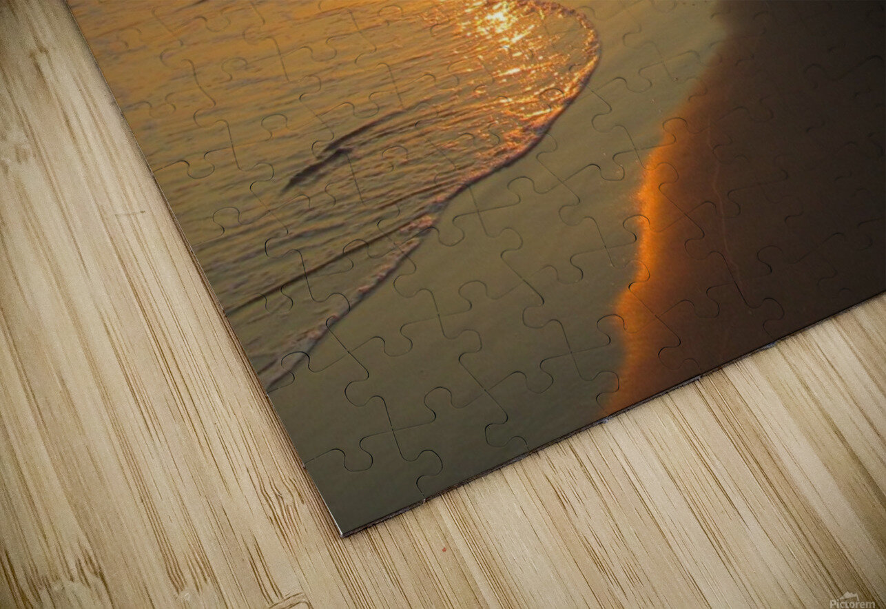 Footprints in the Sand 2 HD Sublimation Metal print