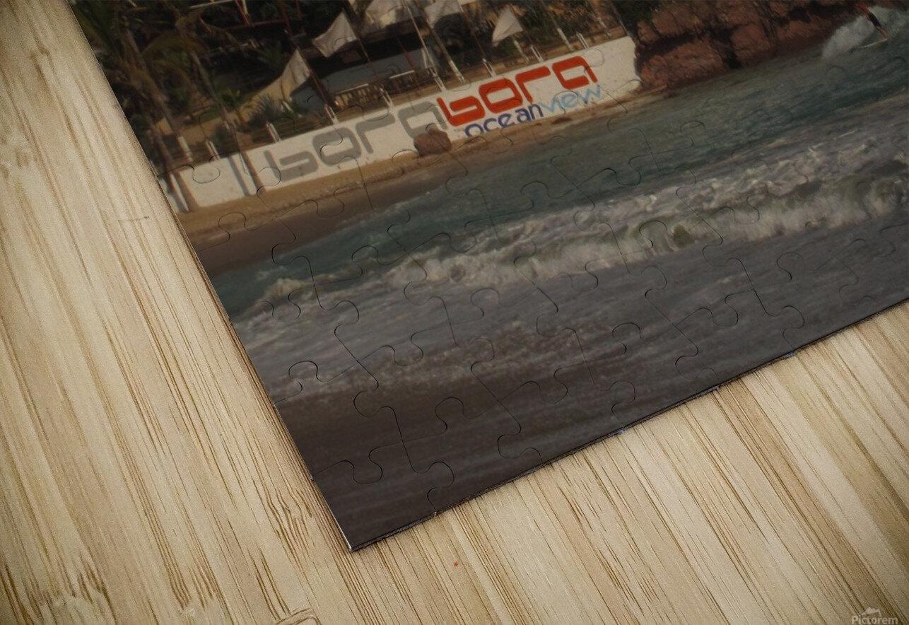 White Castle HD Sublimation Metal print