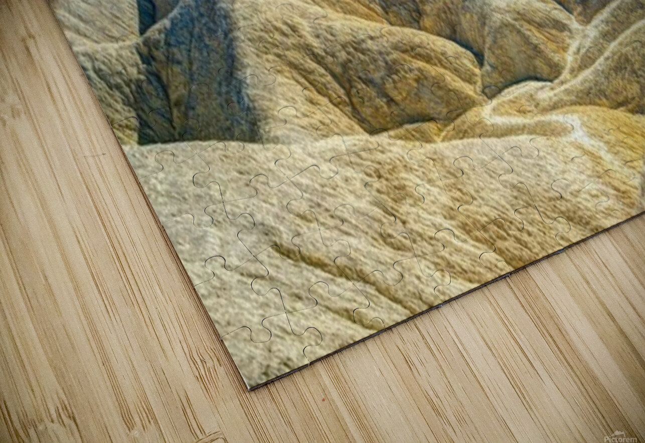 Death Valley Waves HD Sublimation Metal print
