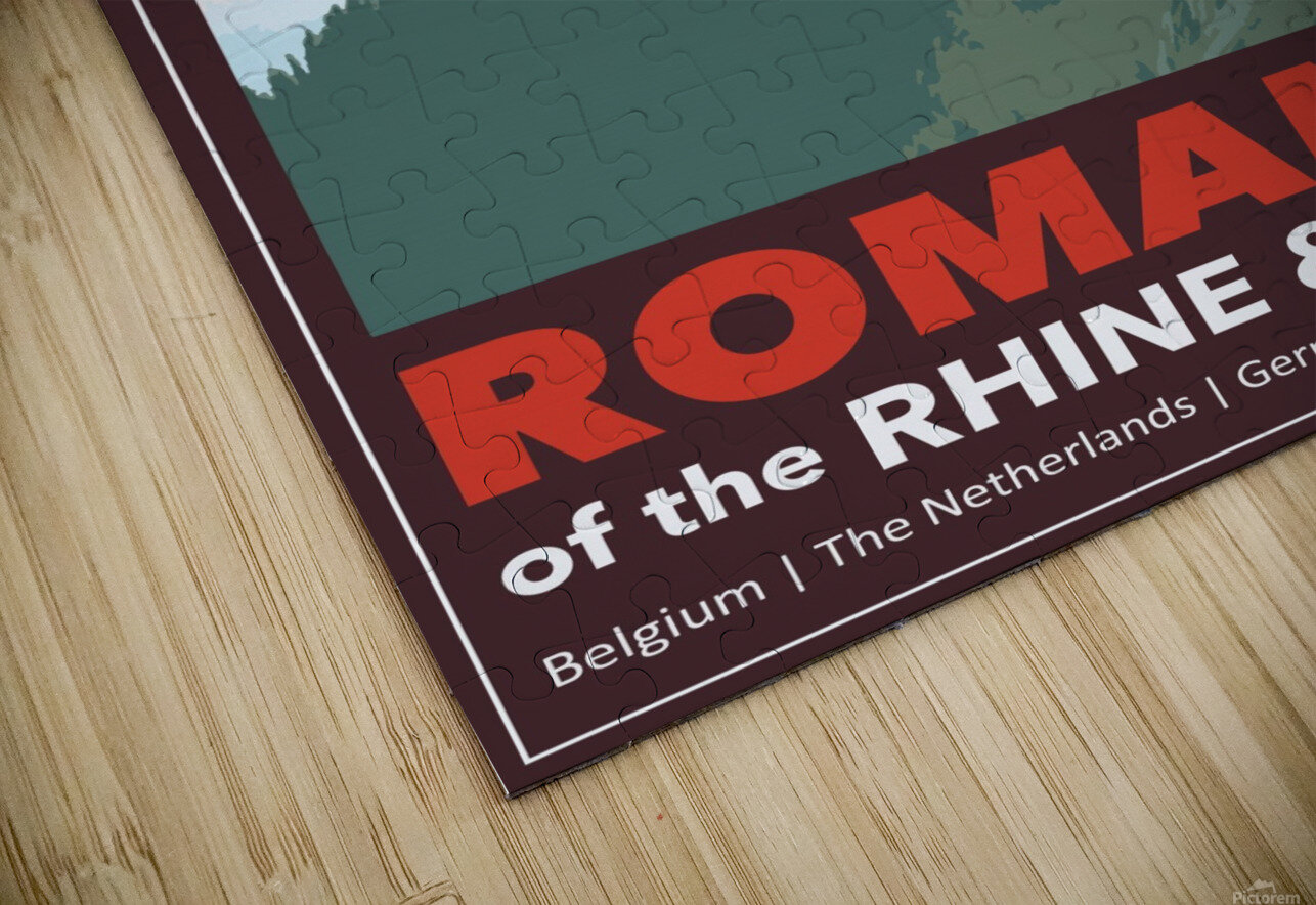 Lydon, Romance of the Rhine and Mosel poster HD Sublimation Metal print