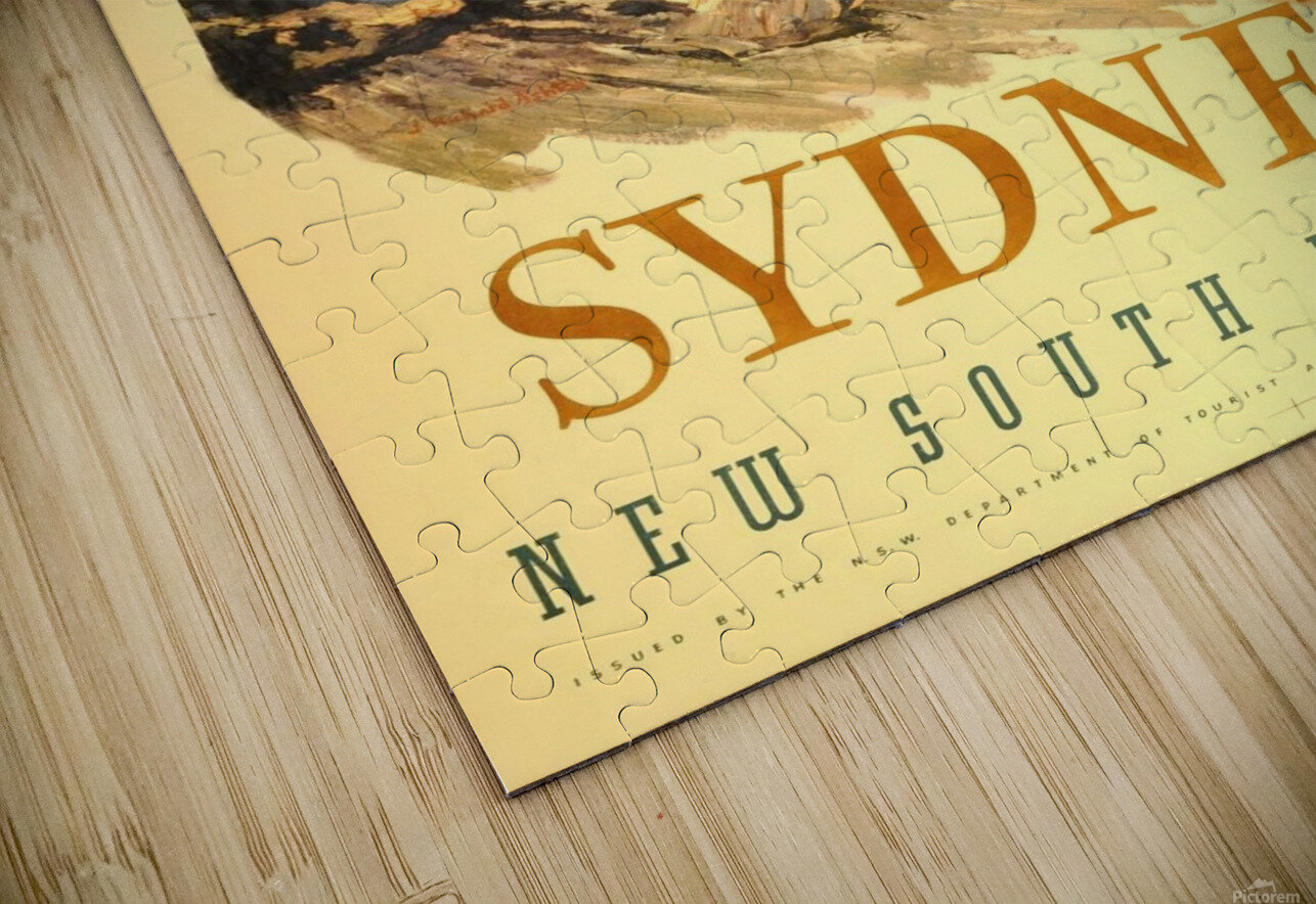 Sydney New South Wales HD Sublimation Metal print