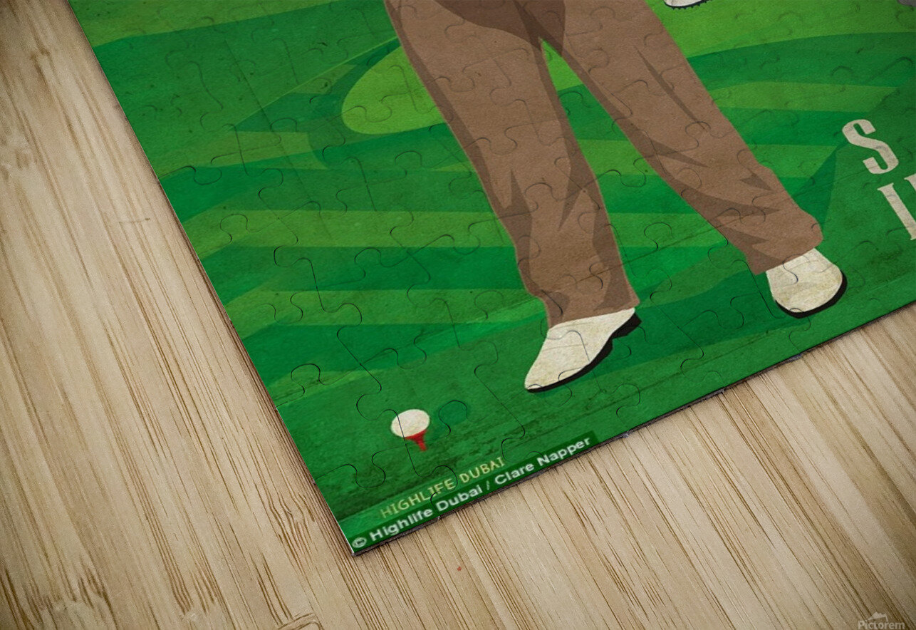 Golf sucks in summer HD Sublimation Metal print