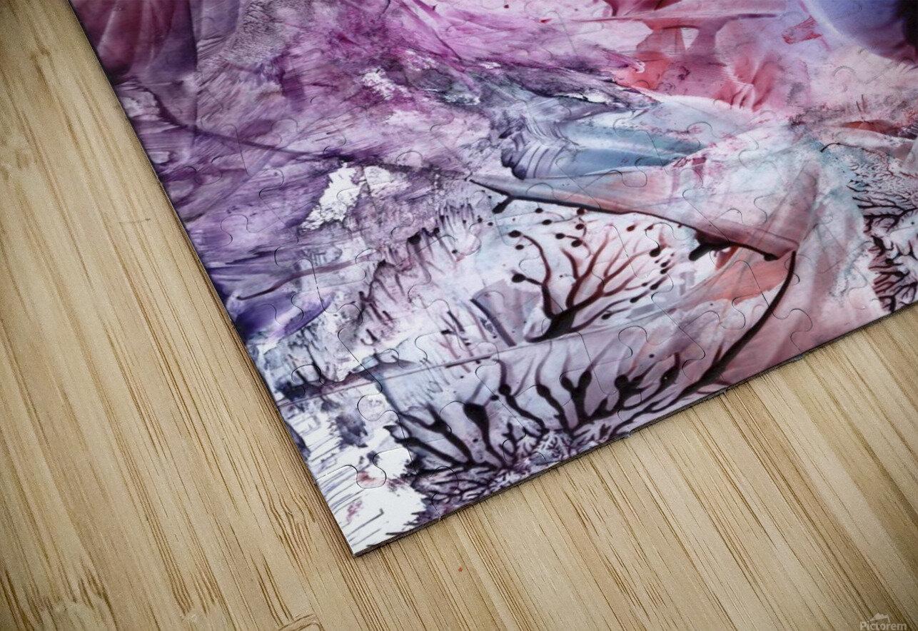Eden afloat HD Sublimation Metal print