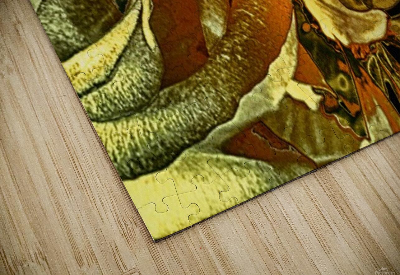 Just Golden HD Sublimation Metal print