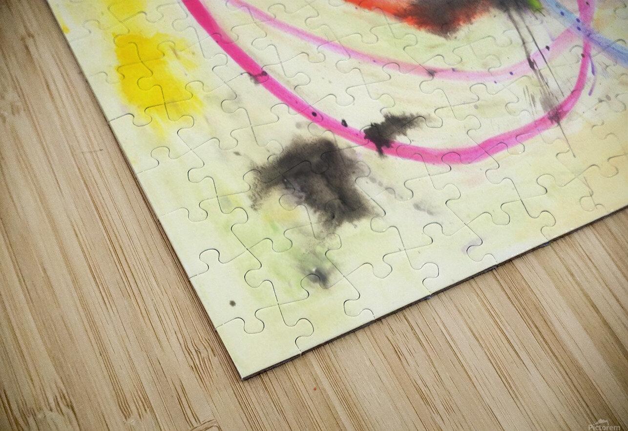 Relationship 1 (Joan Miro tribute) HD Sublimation Metal print