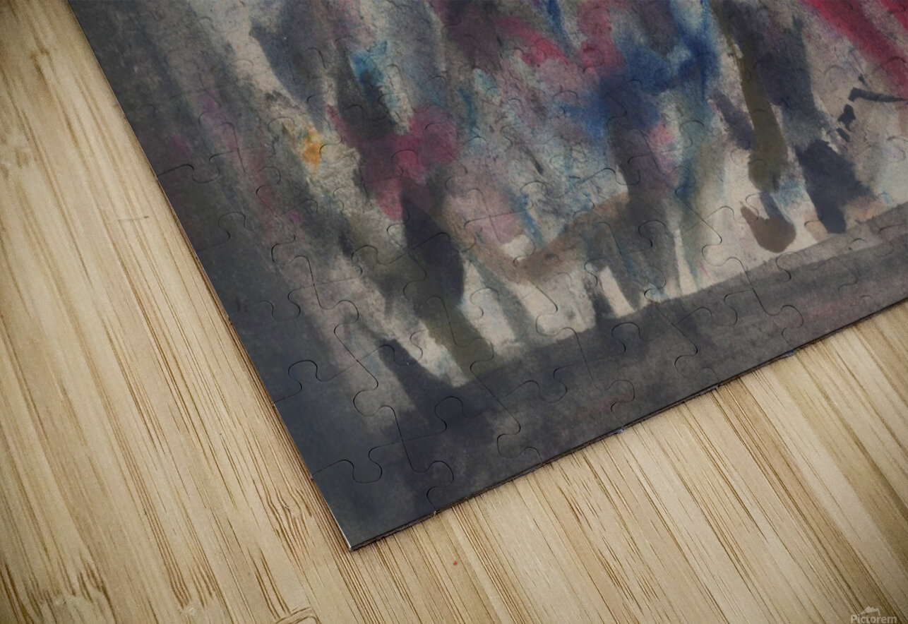 Anger 4 HD Sublimation Metal print