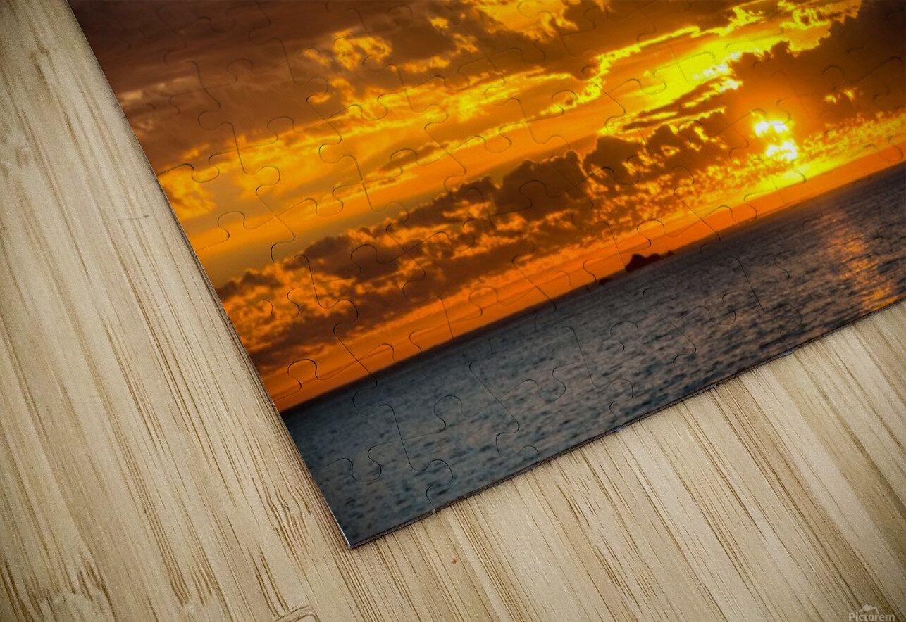 Fire in the Sky HD Sublimation Metal print