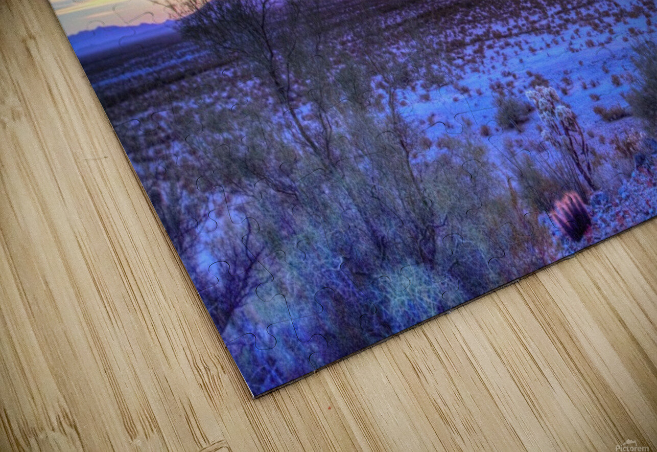 Sonoran_sunset HD Sublimation Metal print