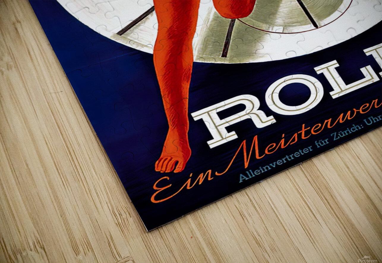 1942 Beyer Zurich Rolex Poster HD Sublimation Metal print