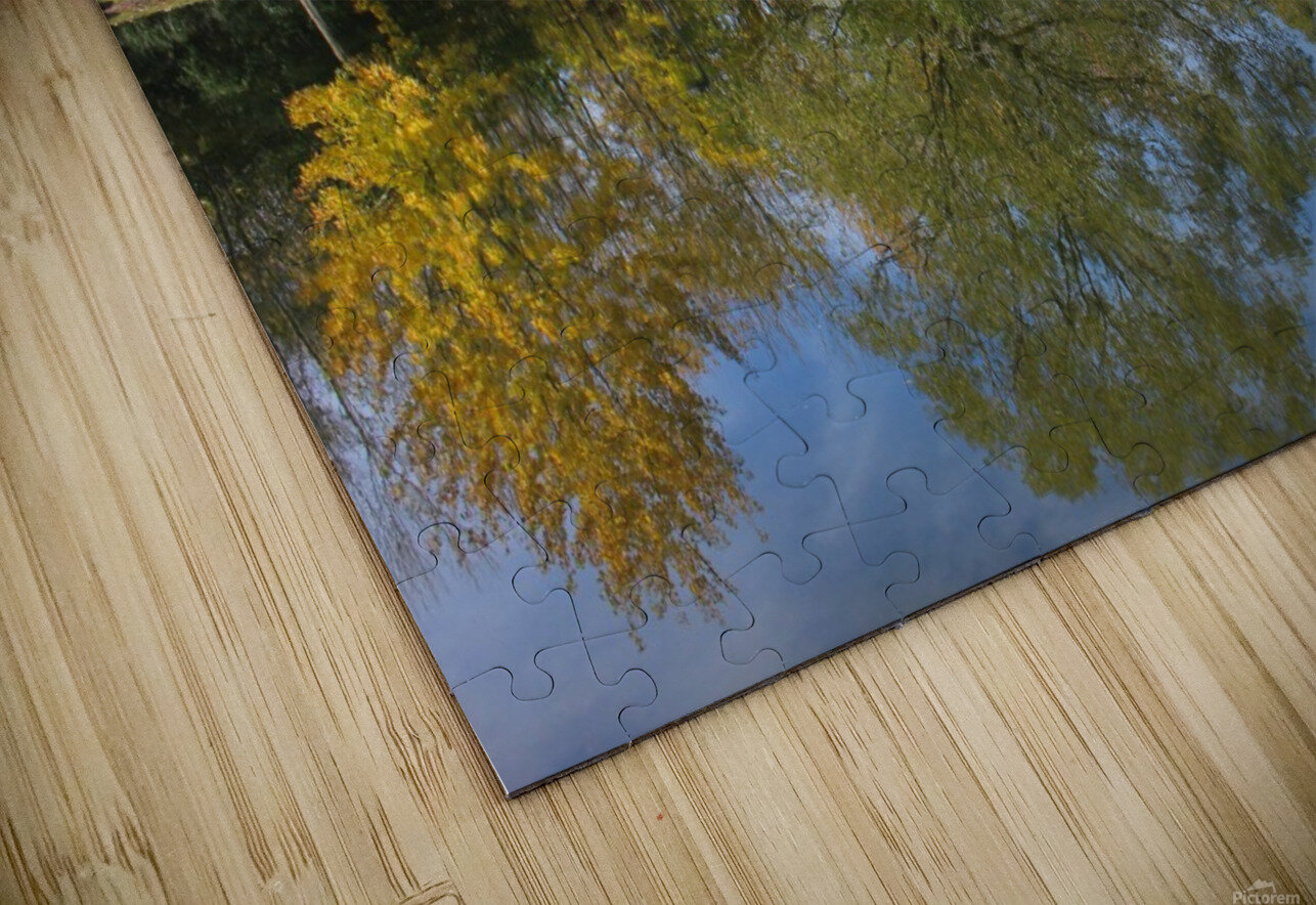 Tree reflection HD Sublimation Metal print