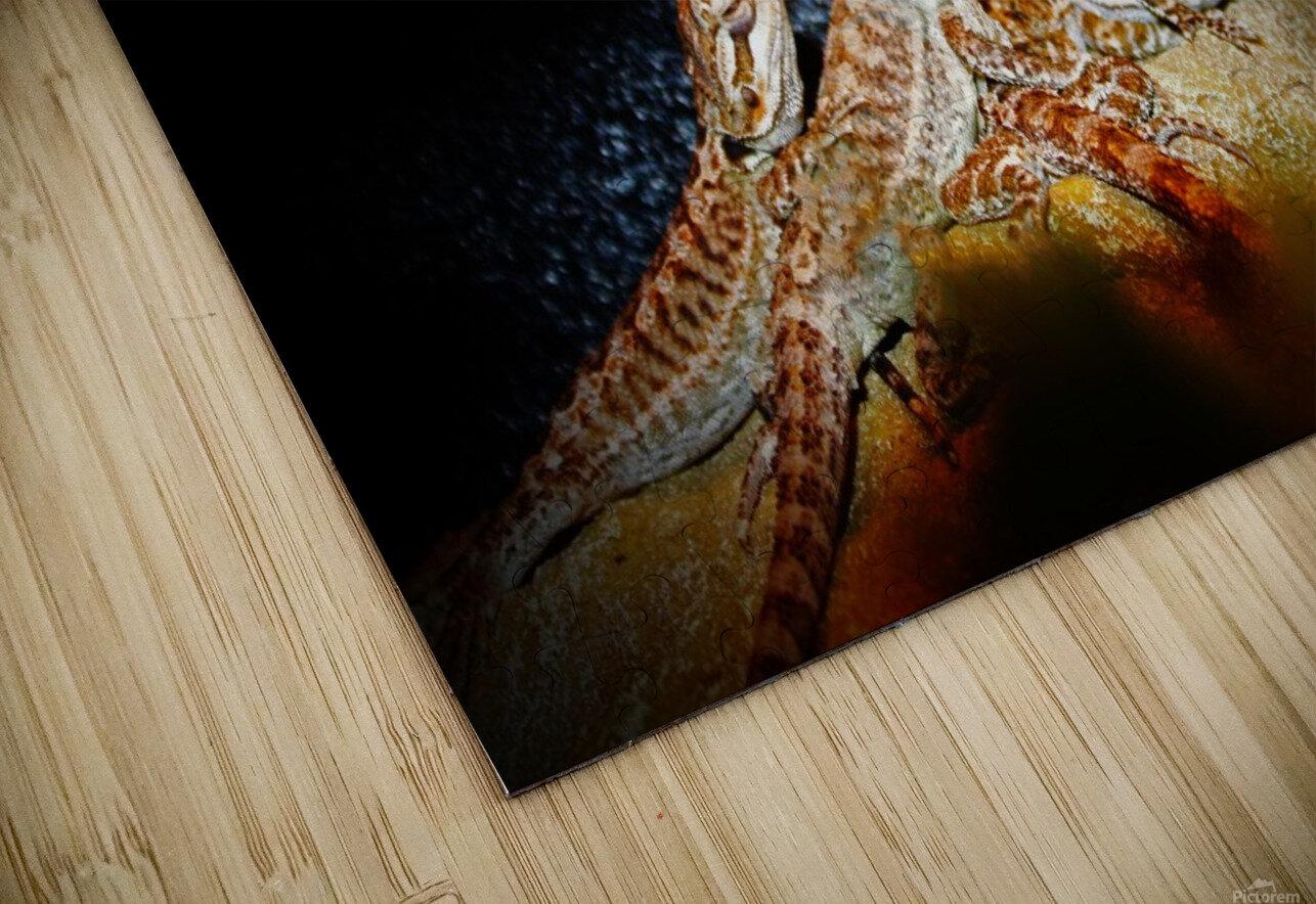 Reptile movie Stars HD Sublimation Metal print
