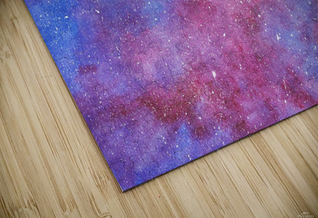 Galaxis HD Sublimation Metal print