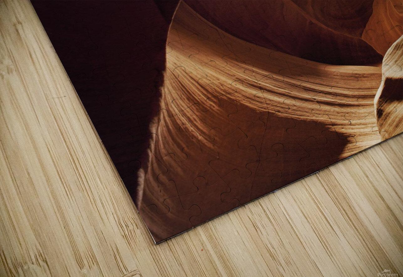 Antelope Canyon 1 HD Sublimation Metal print