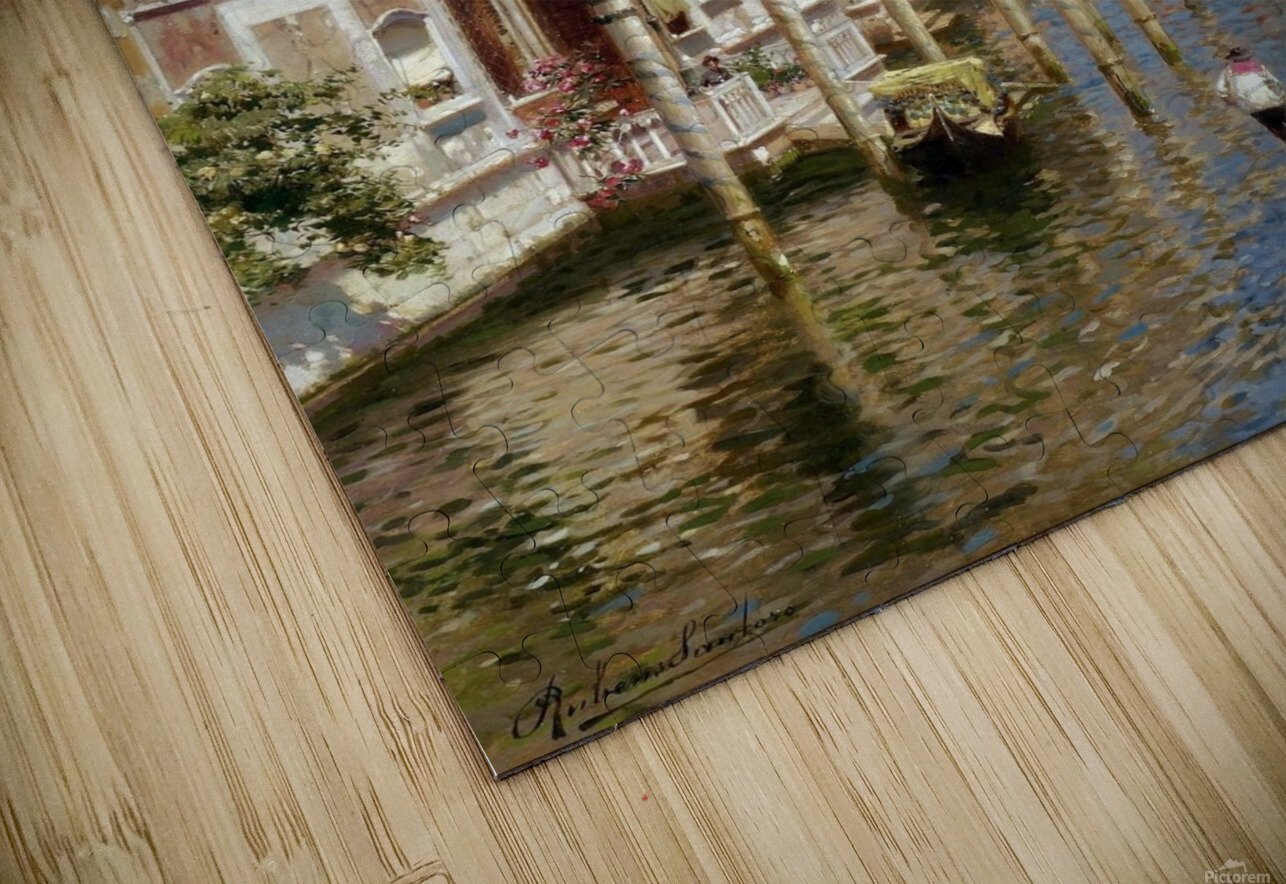 Grand Canal HD Sublimation Metal print