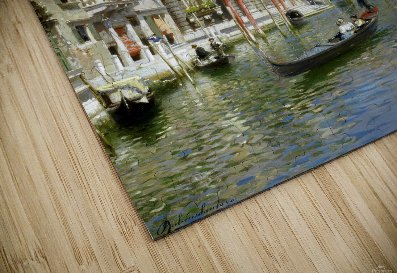 In the gondola HD Sublimation Metal print