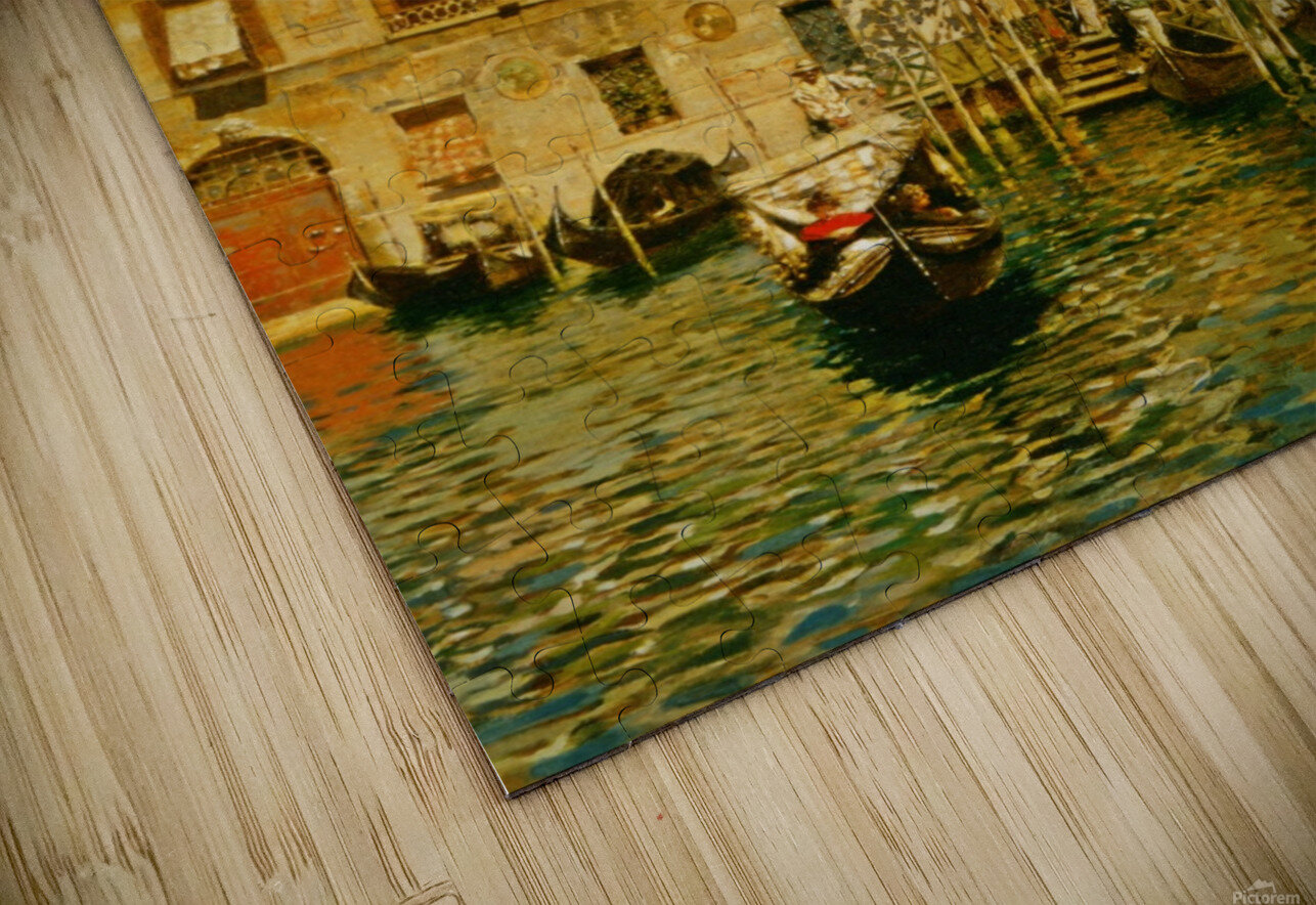 Leaving a Residence on the Grand Canal HD Sublimation Metal print