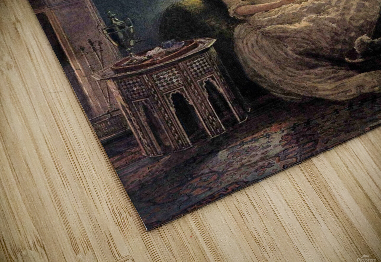 Evening at home HD Sublimation Metal print