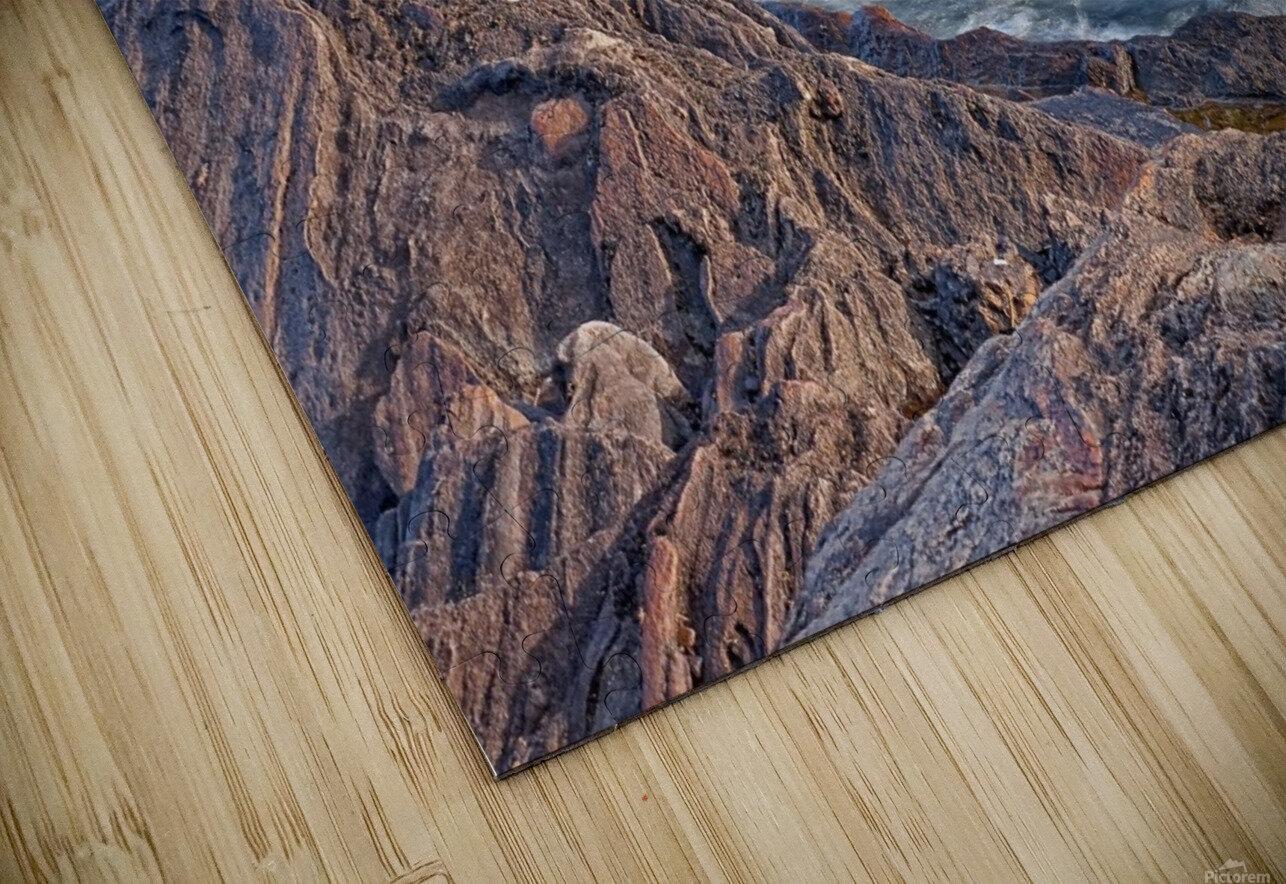 Rocky River Edge HD Sublimation Metal print