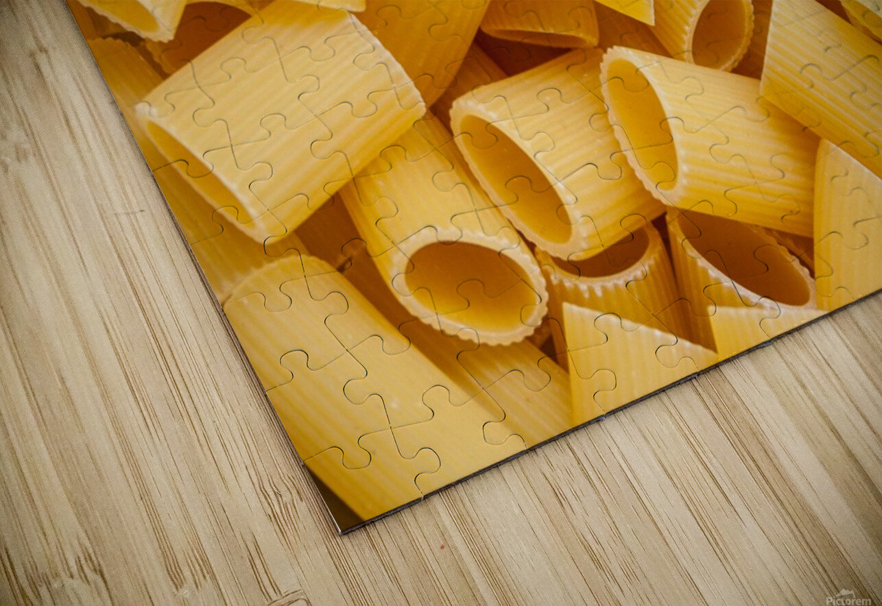 Dry pasta background  HD Sublimation Metal print