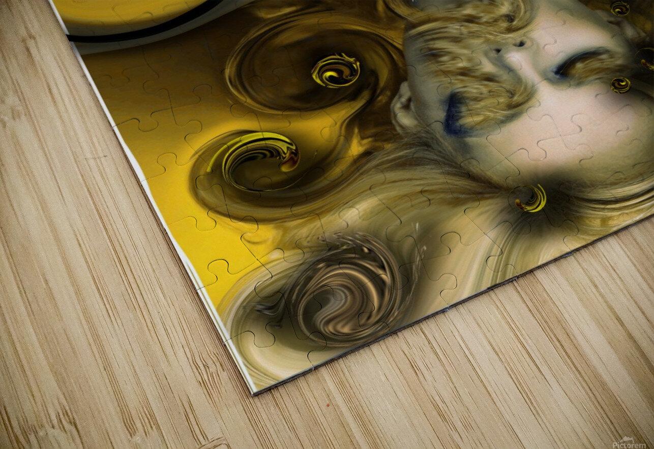 Movement with Venus HD Sublimation Metal print