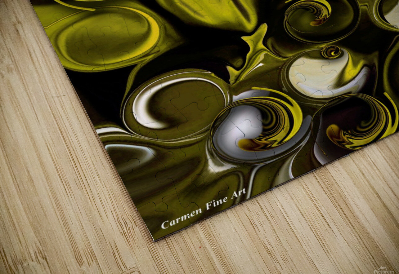 Movement and Poetry HD Sublimation Metal print