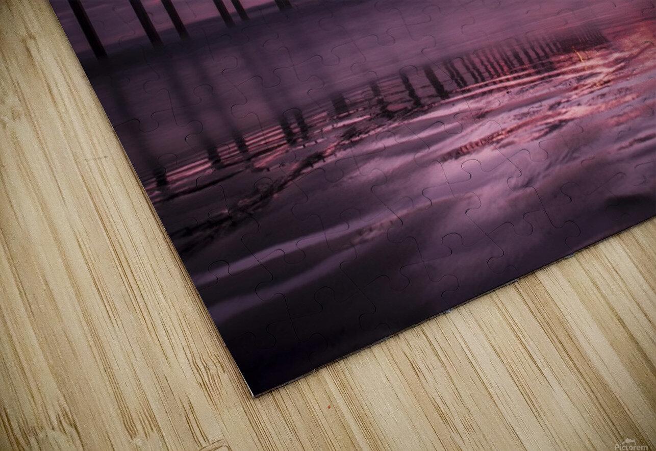 LaJolla Bridge HD Sublimation Metal print