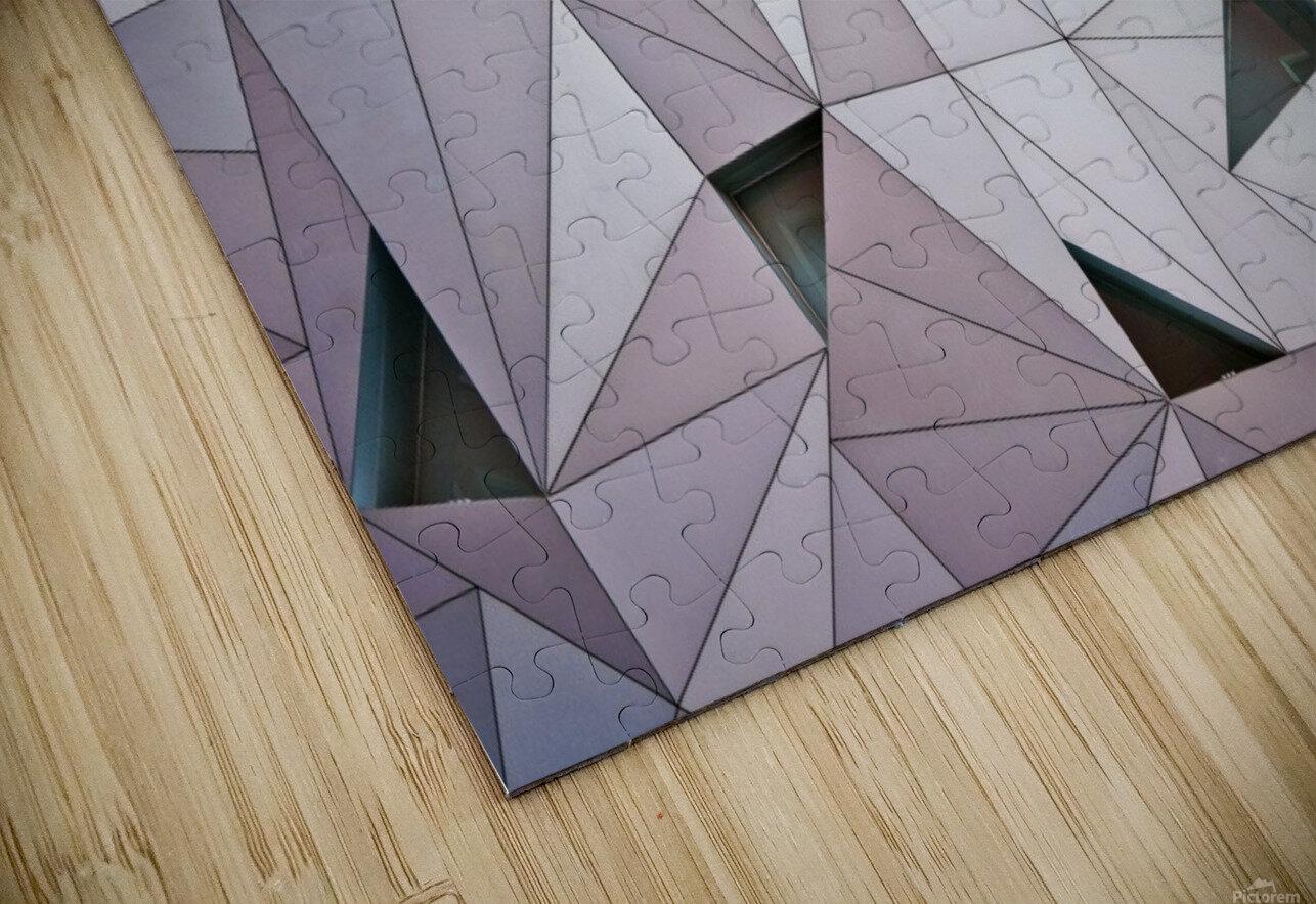 triangulation 1 HD Sublimation Metal print