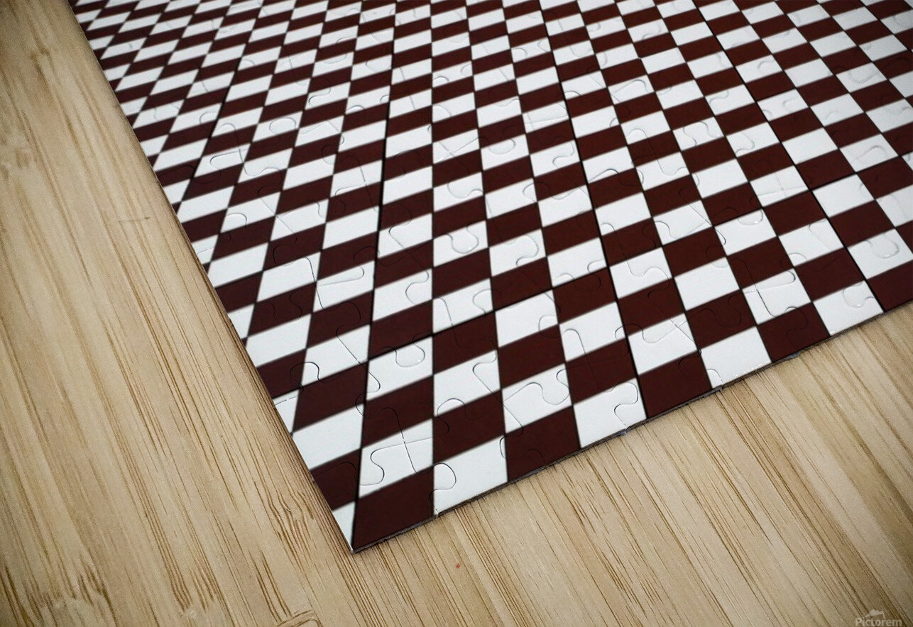 the hypnotic floor HD Sublimation Metal print