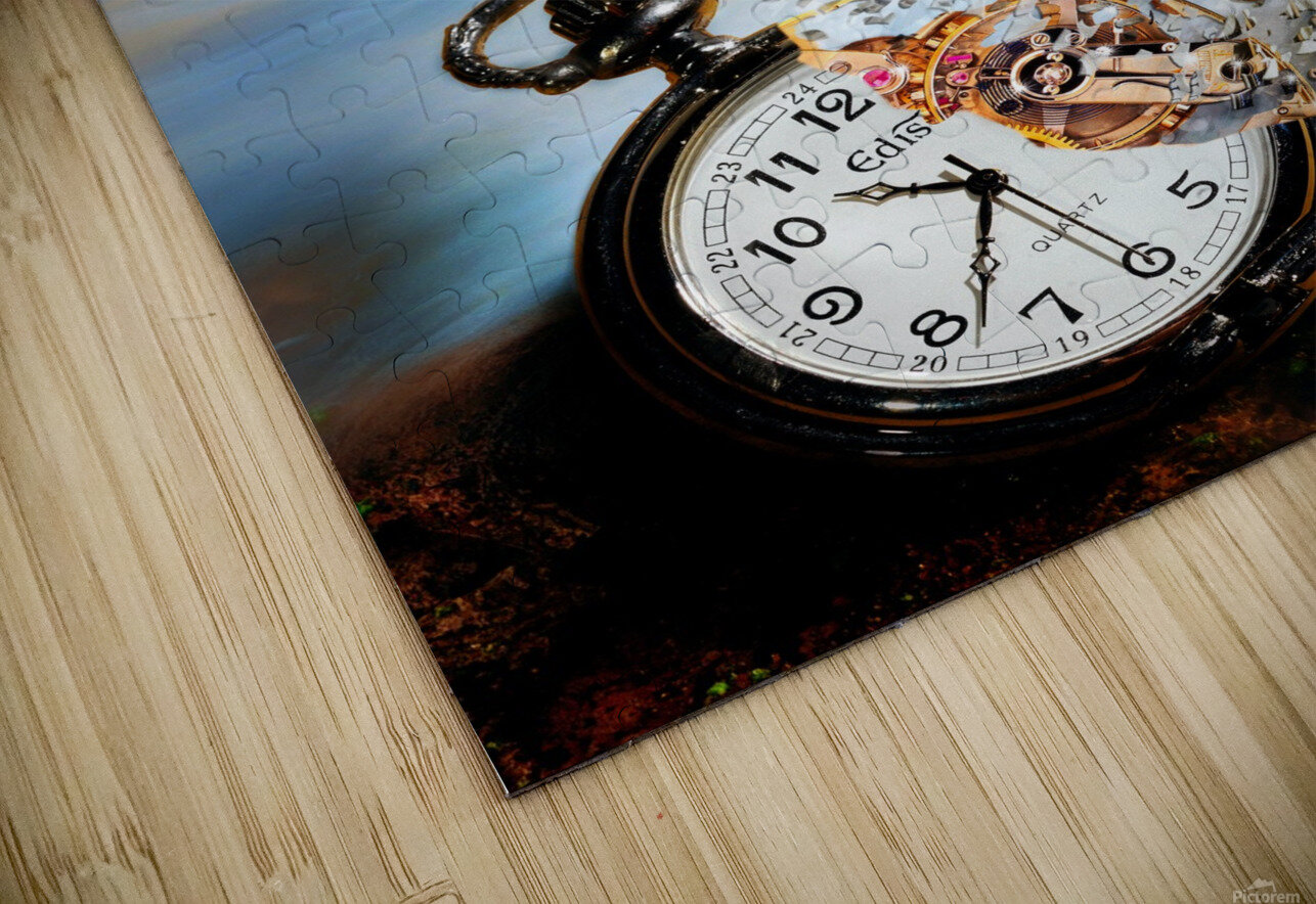 The Vanishing Time HD Sublimation Metal print