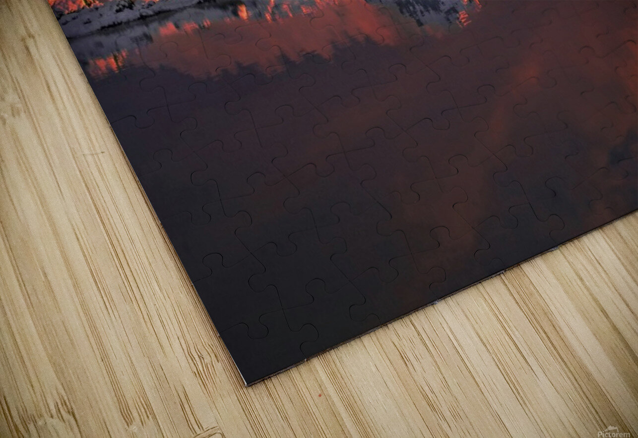 Ice & Fire HD Sublimation Metal print