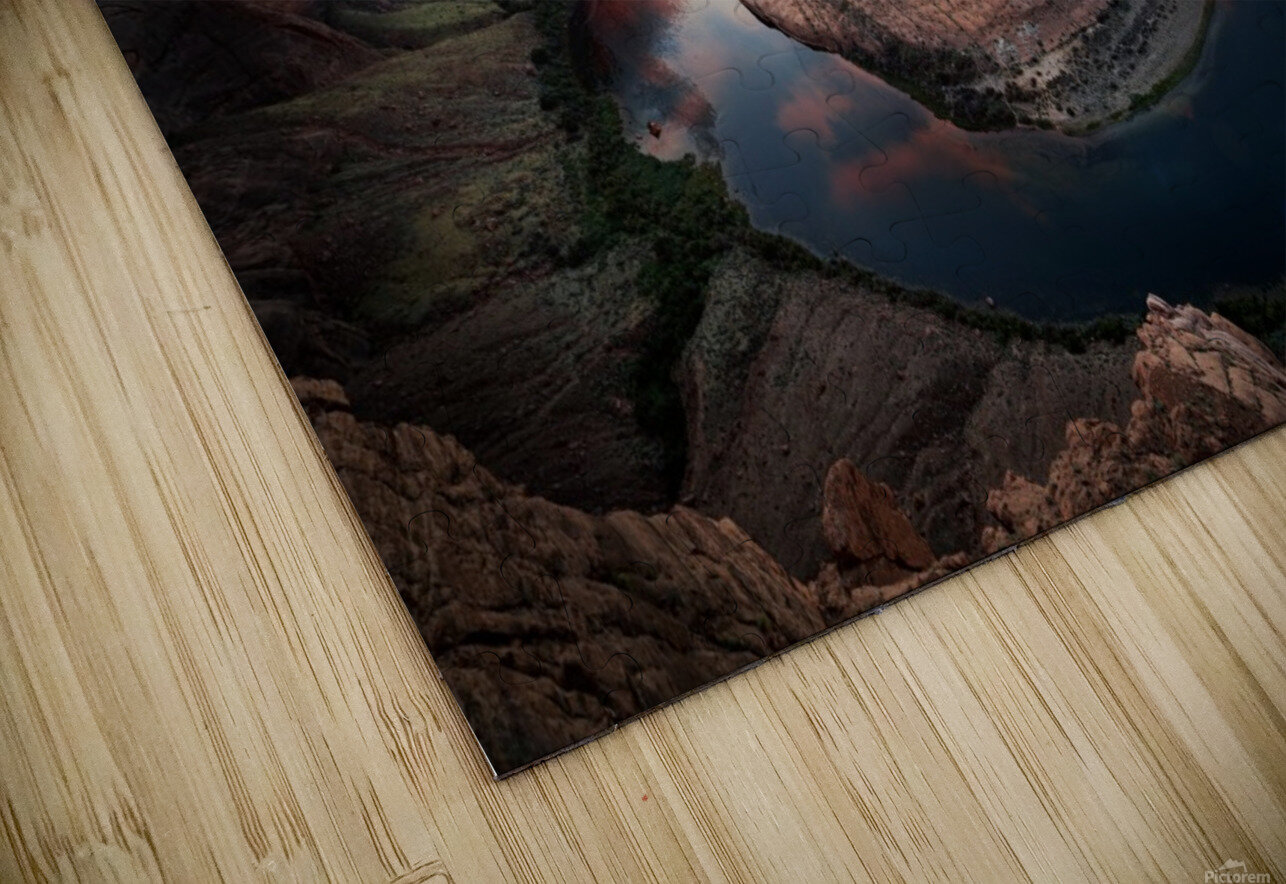 Horseshoe Bend HD Sublimation Metal print