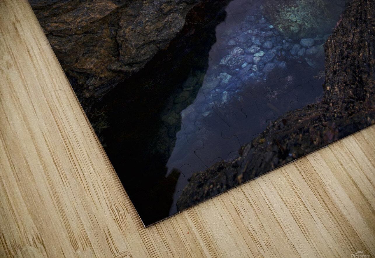 Meeting of Waters HD Sublimation Metal print