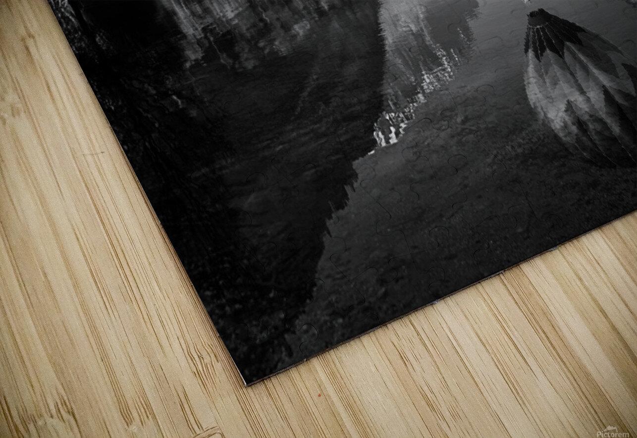 La mongolfiera HD Sublimation Metal print