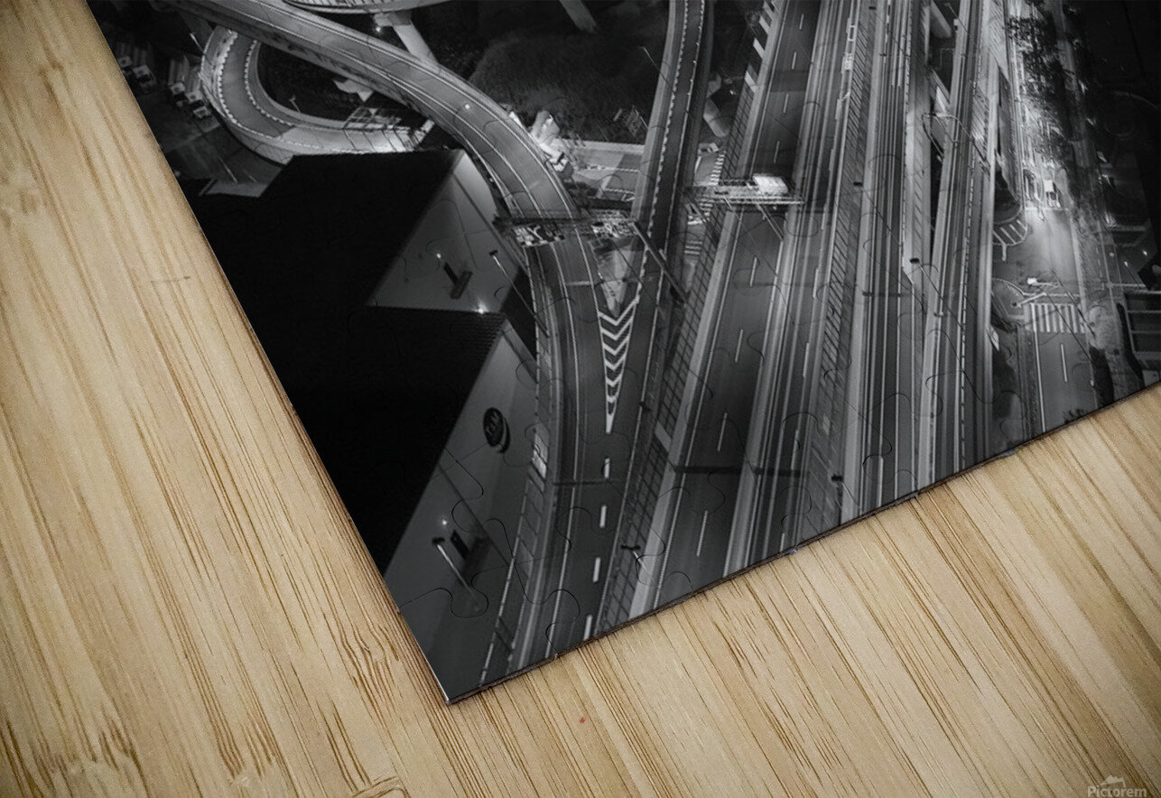 motorway HD Sublimation Metal print